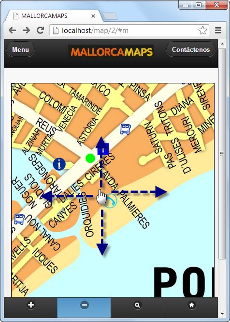 jquery-mobile-map-touch
