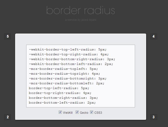 border-radius-generate